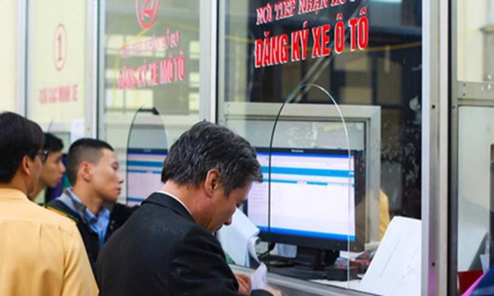 phí đăng ký ô tô tại Phú Thọ