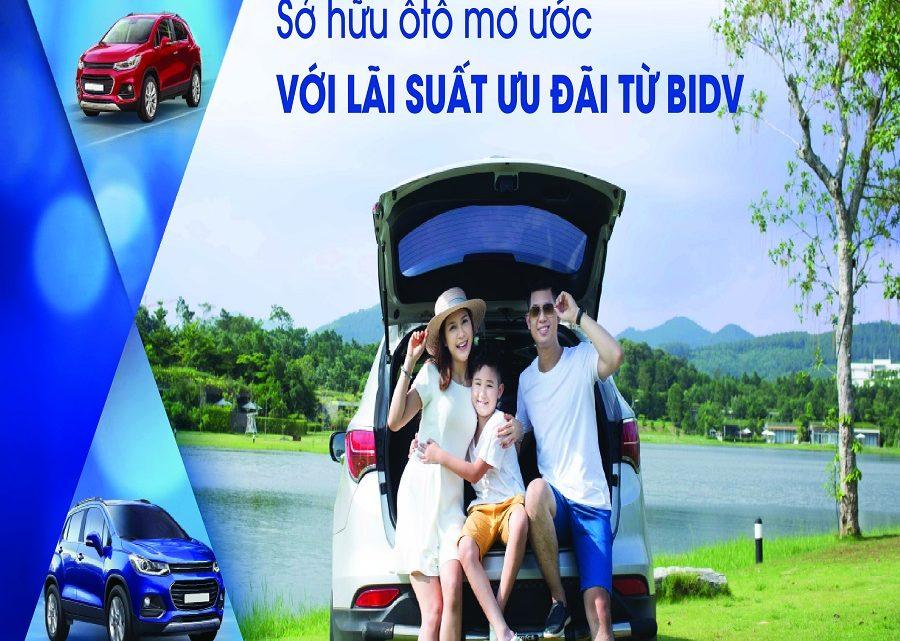 Lãi suất vay mua ô tô BIDV là bao nhiêu? Điều kiện và cách vay như thế nào?